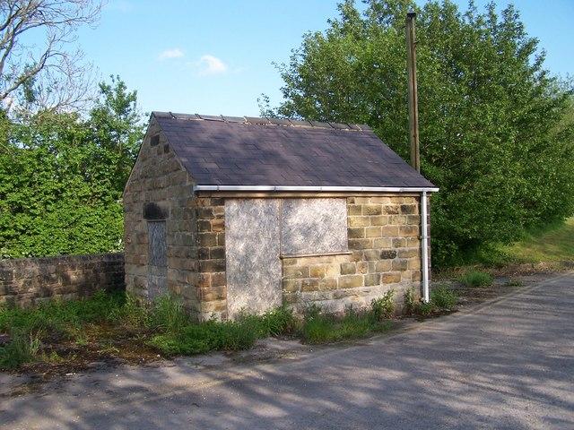 Former Weighbridge Hut, Hassop Station Site, Hassop, Derbyshire