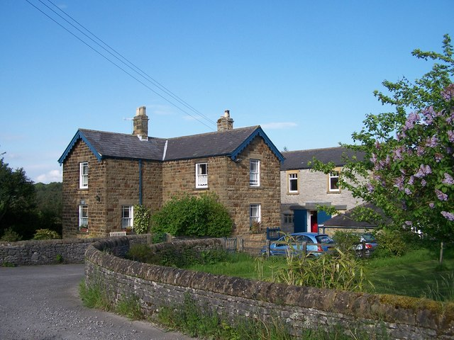 Station Farm, near to the former Hassop Station, Hassop, Derbyshire