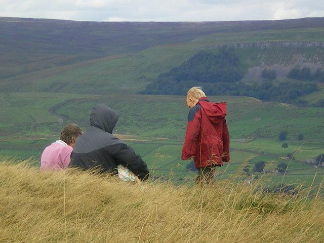 Enjoying the view - Wensleydale
