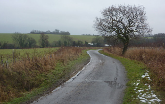Looking along Jockey's Lane