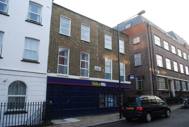 William Hill Betting Shop, Euston St