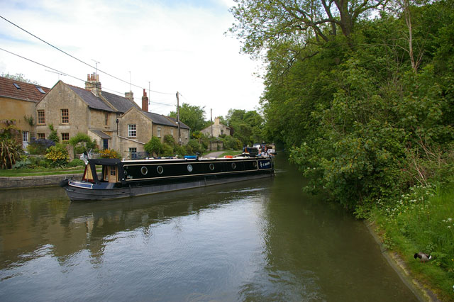 "Narrowboat ""C Moon"""