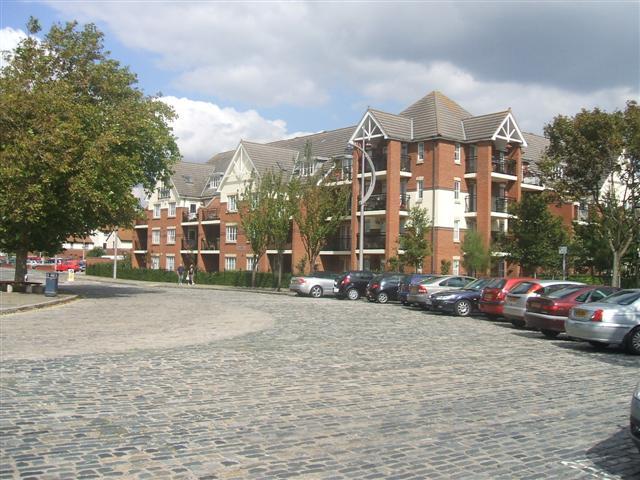 Flats on Gunwharf Road