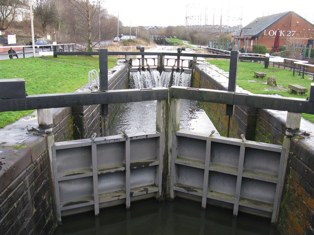 Lock 27 on the Forth and Clyde Canal