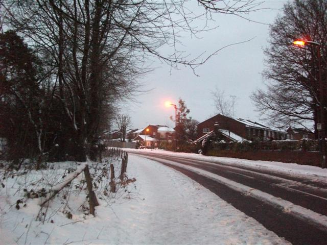 Kings Way towards Rolfe Drive