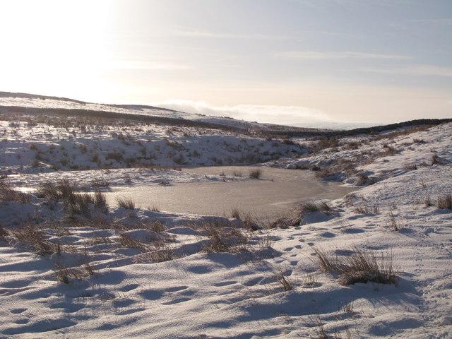 Frozen lough near Crawberry Hill (6)