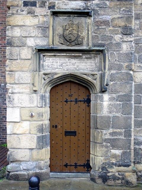 Doorway to Cordwainers' Hall, Blackfriars
