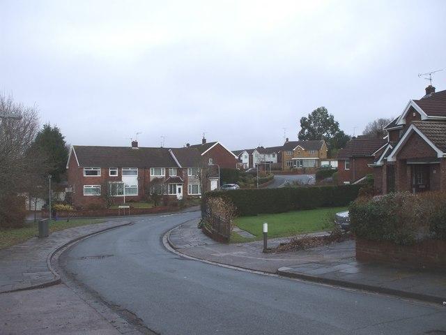 Junction of Ogwen Drive & Claerwen Drive, Cardiff