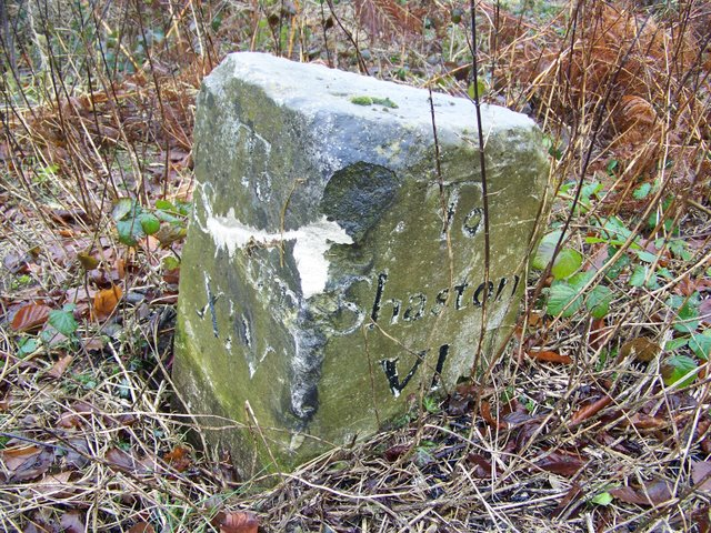 Milestone near Ansty