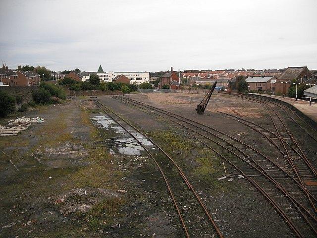 Sidings, Arbroath Station
