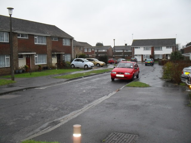 Far end of Winchester Road