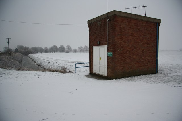 Mallard Hurn Pumping Station