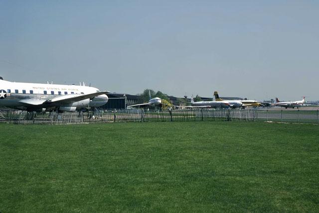 Duxford aviation museum, 1980