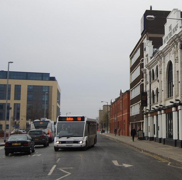 Bus, Haymarket St
