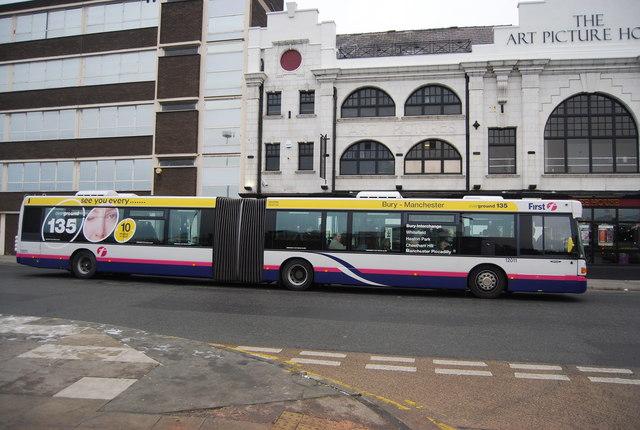 Bendy Bus, Haymarket St