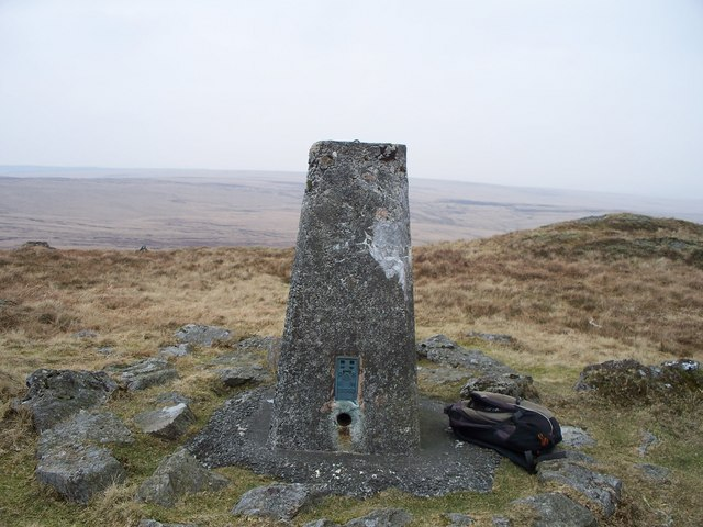 Trig Point by Drygarn Fawr