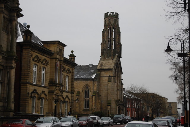St Maries Church, Manchester Rd