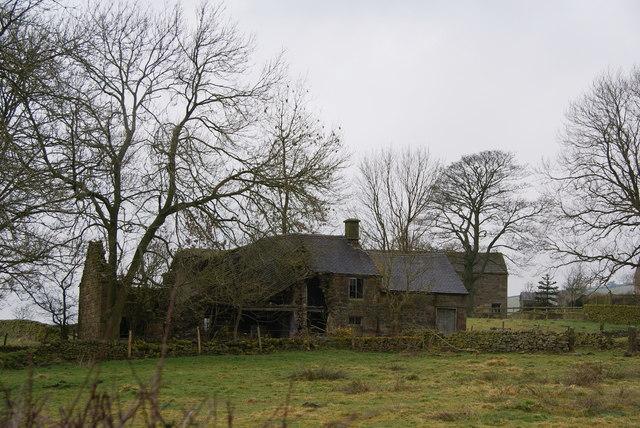 A ramshackle farmhouse