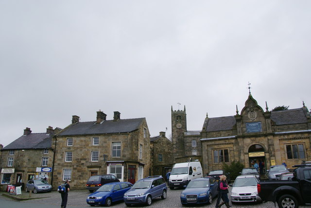 The market place in Longnor