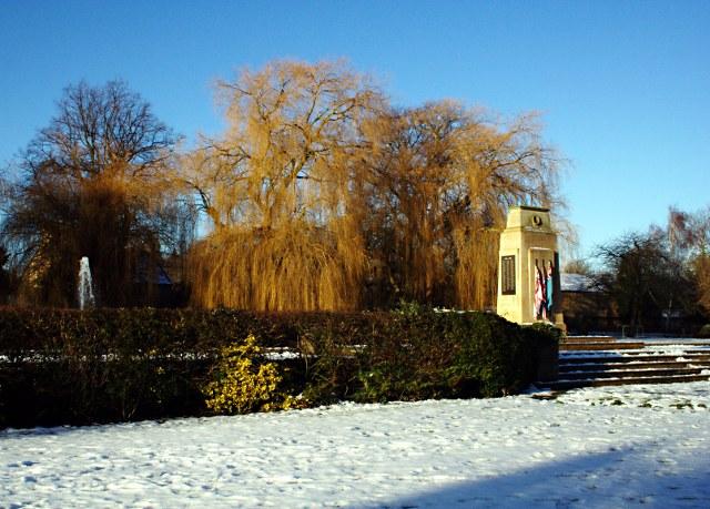 Bourne Memorial Gardens