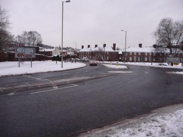 Tiverton : Leat Street Roundabout