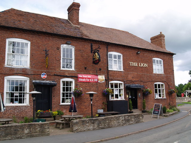 The Lion at Clifton Upon Teme