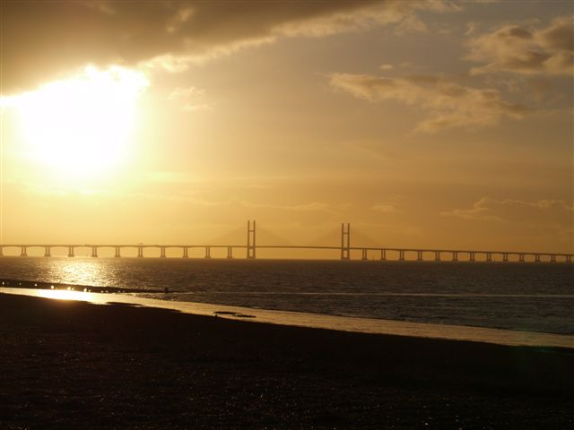 The new Severn bridge