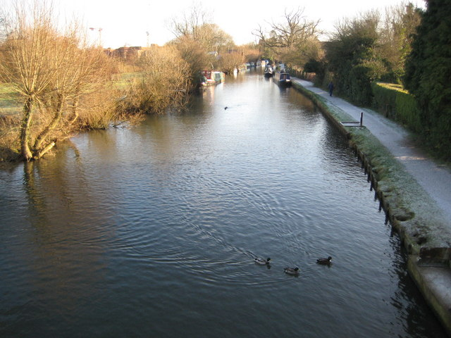 Kennet and Avon Canal at Newbury