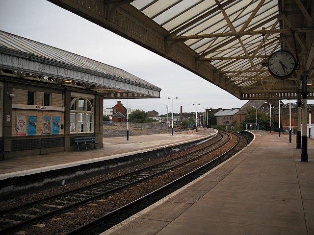 Arbroath railway station