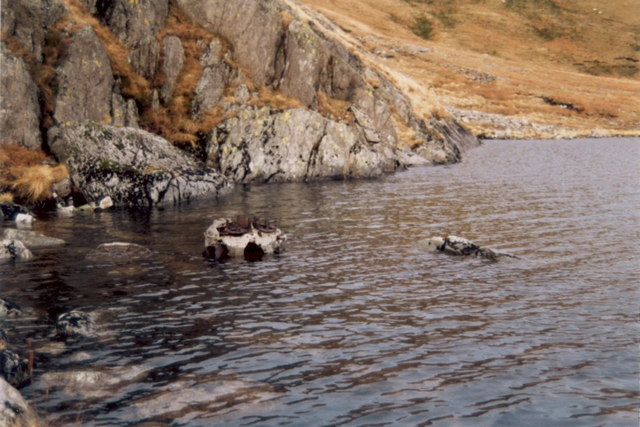 Wreckage in Creiglyn Dyfi