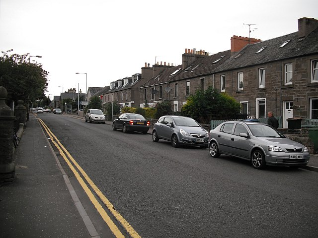 Main Street, Invergowrie