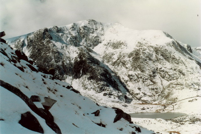 Y Garn from Y Gribin