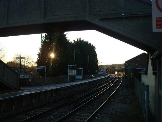 Wateringbury railway station