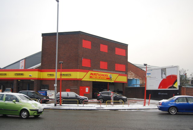 National Tyre Centre, Bolton Rd
