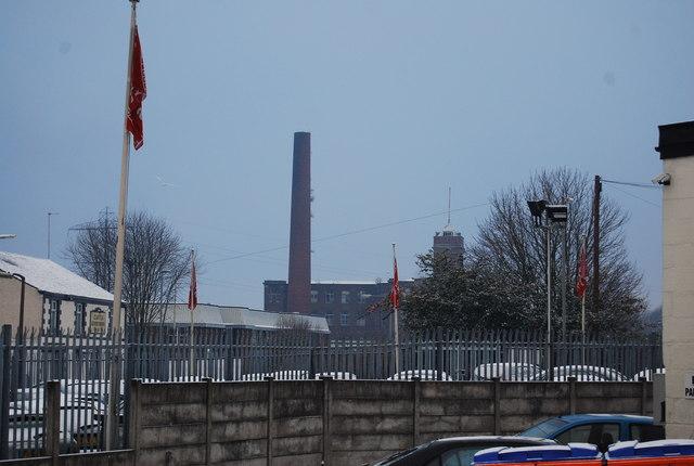 Wellington Mill Chimney