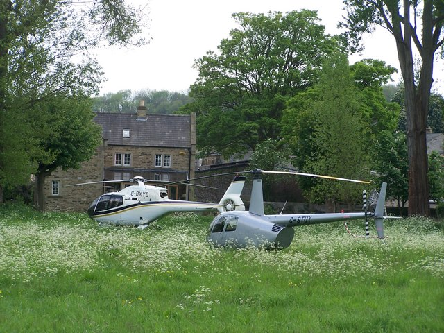 Bakewell Fliers, viewed from Holme Lane, Bakewell