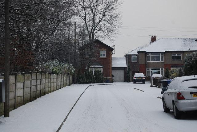 A snowy Craig Avenue