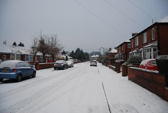 Snow, Grange Rd