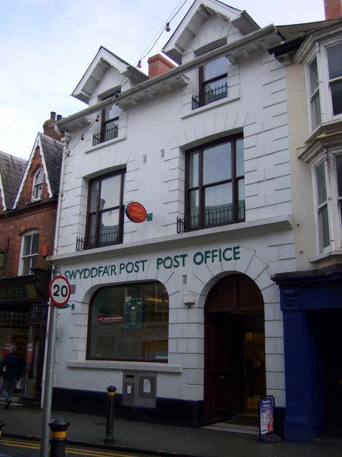 Swyddfa'r Post Aberteifi/Cardigan Post Office