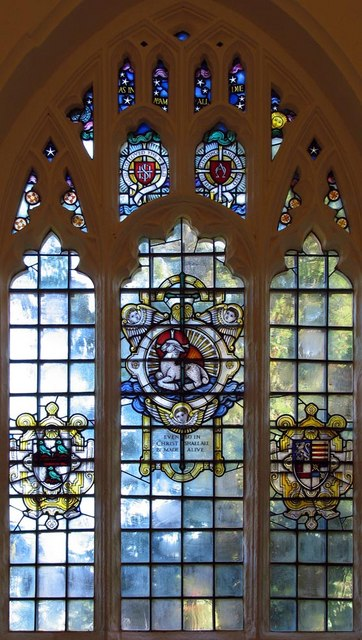 The Lumley Chapel, Cheam - Window