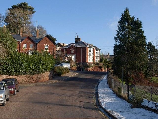 Sherwell Hill and Mallock Road, Chelston