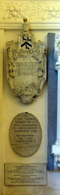 The Lumley Chapel, Cheam - Monument