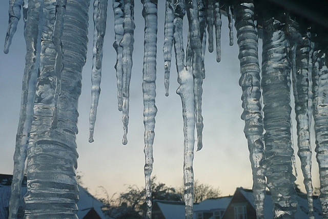 Domestic stalactites
