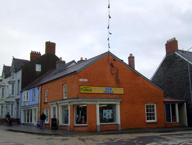 Bike shop, Aberteifi/Cardigan