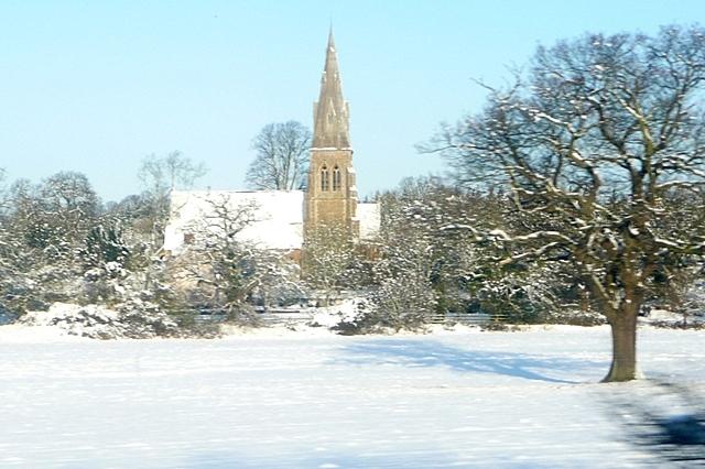 Stratfield Mortimer church