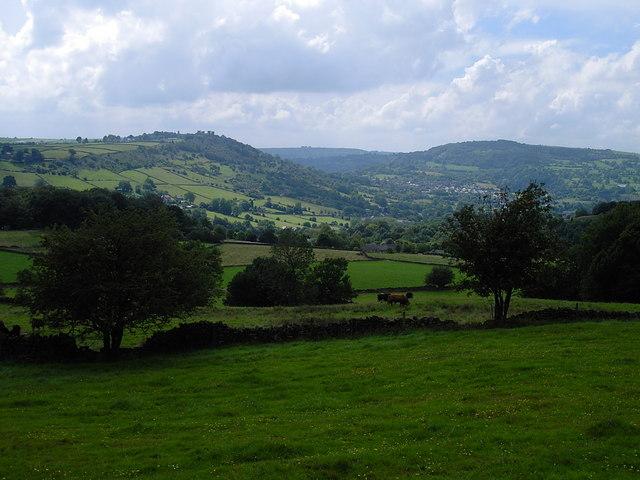 Lumsdale - fields near Oaksedge Lane
