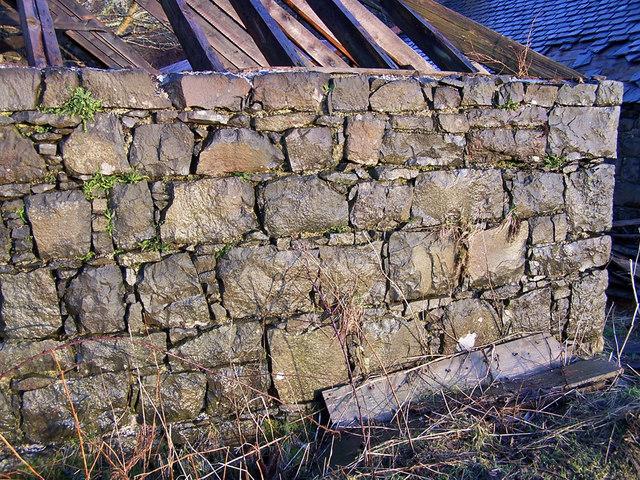 Sawmill building - wall detail