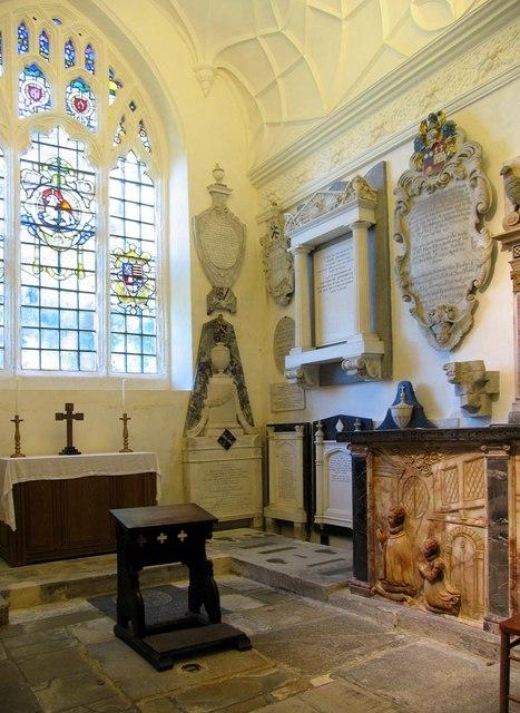 The Lumley Chapel, Cheam - Interior