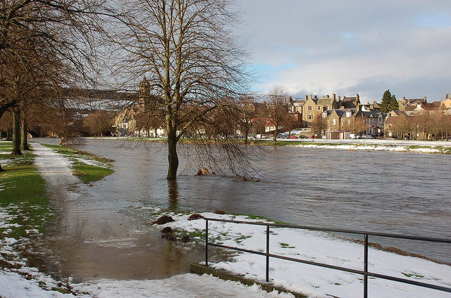 River Tweed during the thaw