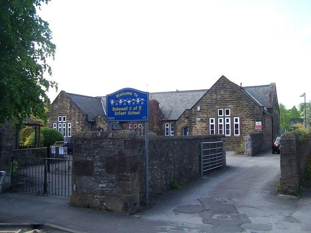 Bakewell C of E Infant School, Bath Street, Bakewell